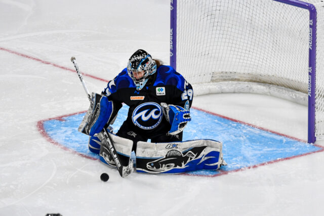 Leveille carving impressive legacy in and out of her crease