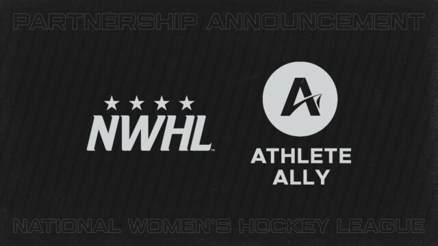 NWHL ANNOUNCES PARTNERSHIP WITH ATHLETE ALLY & CHRIS MOSIER
