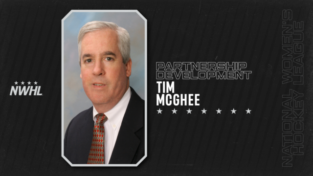 TIM MCGHEE TAPPED TO DEVELOP NWHL PARTNERSHIPS