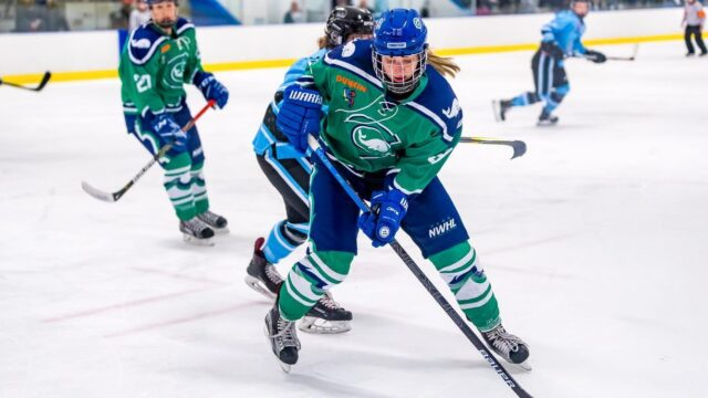 NWHL International Talent Started With Weber